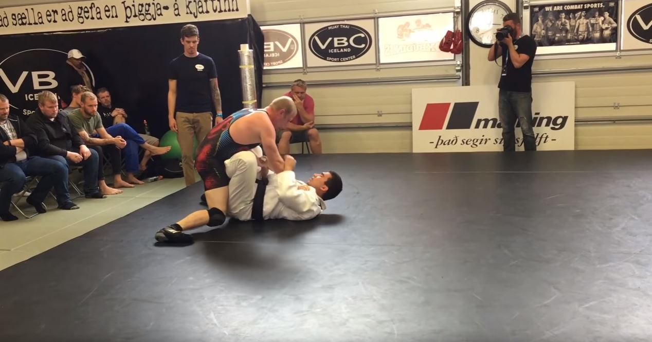 Watch Judo Vs Wrestling Superfight in Iceland almost spent