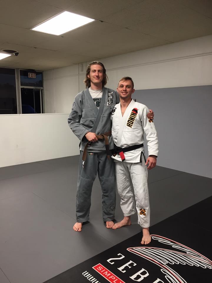 Lucas Walker Brown Belt