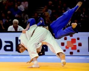Travis Stevens Judo Throw