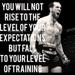 Rise To The Level Of Your BJJ Training