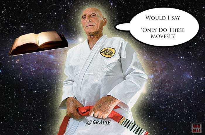 Magical Helio's Book Of Rules For Your Individual BJJ Journey