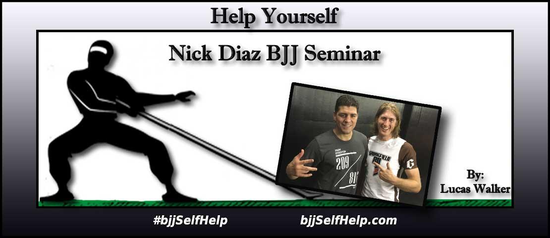What To Expect At a BJJ Seminar Taught By Nick Diaz