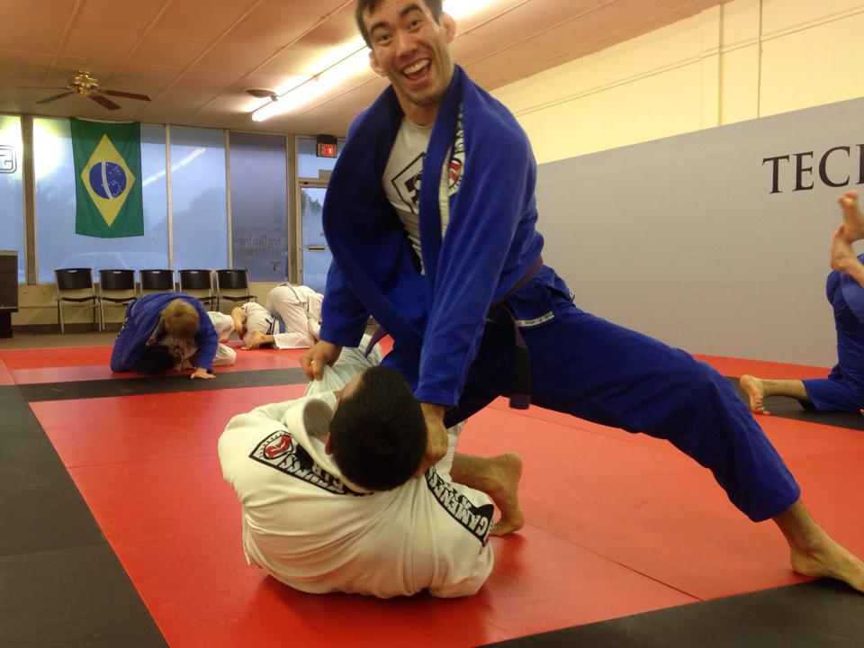 Goofy Partner For Jiu Jitsu Buddy System