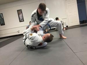 Matthew Lowry Training Hard To Get Better At Jiu Jitsu