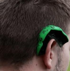 BJJ Mouthguard Hanging On Ear