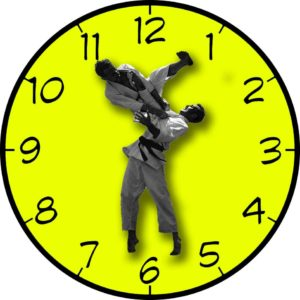 Jiu Jitsu Time (Clock)