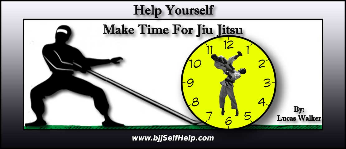 4 Tips To Make Time For Jiu Jitsu