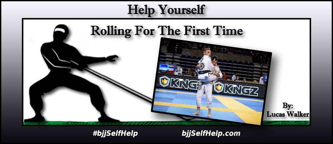 Rolling For The First Time In Brazilian Jiu Jitsu