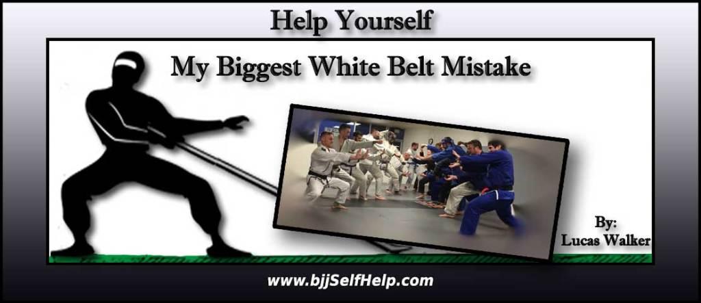 My Biggest White Belt Mistake In Jiu Jitsu