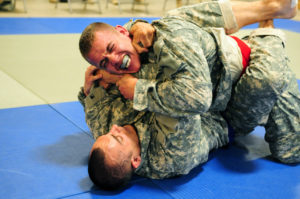 Military Grappling training