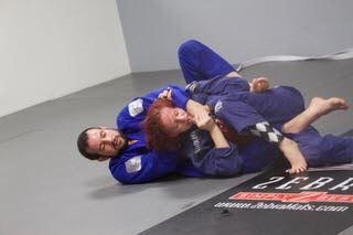 Richard Choking Sammi BJJ