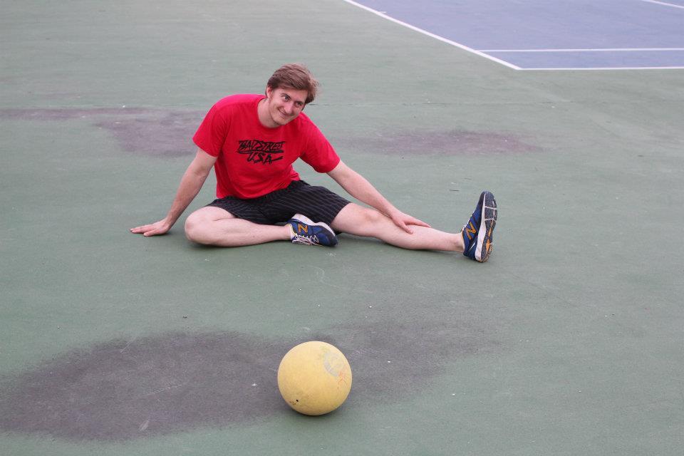 Lucas Walker Playing Dodgeball