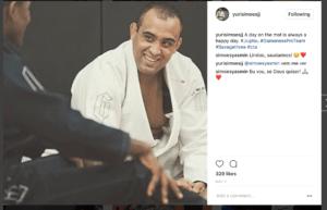 Yuri Simoes Laughing - Instagram Screen Shot