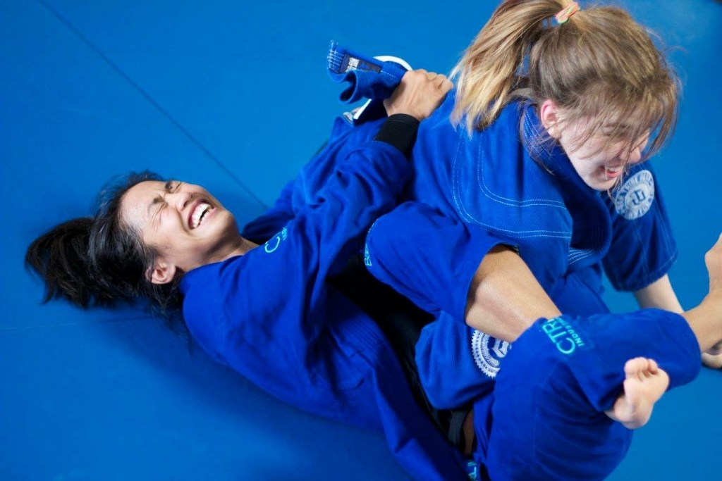 Girls in Gi's BJJ Cross-training fun