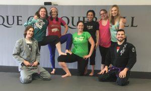 Lucas Walker Teaches Women's Only Seminar At Springfield BJJ