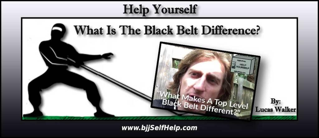 The BJJ Black Belt Difference