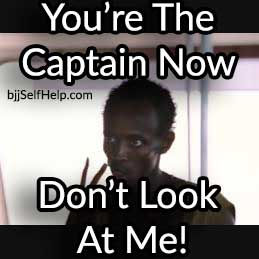 You Are The Captain Now