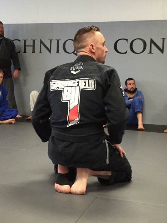 Brian Springfield BJJ Back Of Gi
