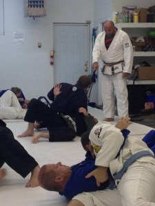Mike Leake teaching