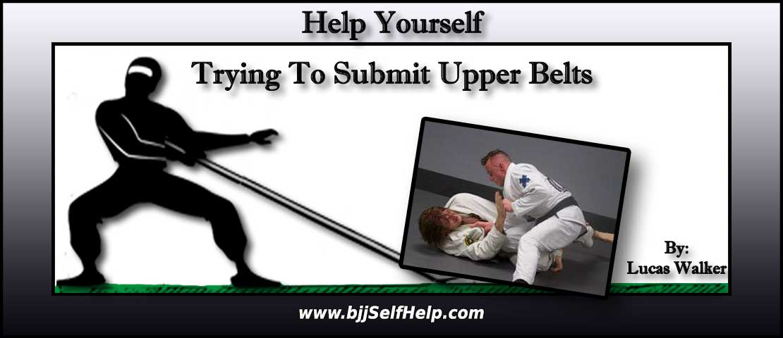 Should I focus on submissions when rolling with higher belts?