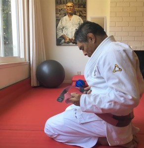 Rickson Gracie is a very legit Jiu Jitsu Instructor