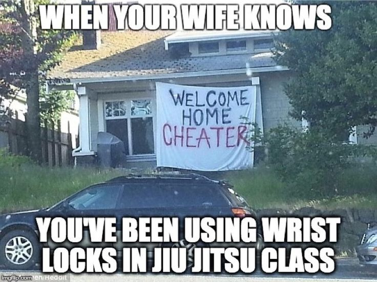 Who Goes For Wrist Locks, You Cheater