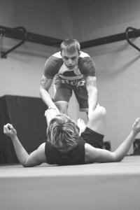 Brian Stuebner Guard Pass BW