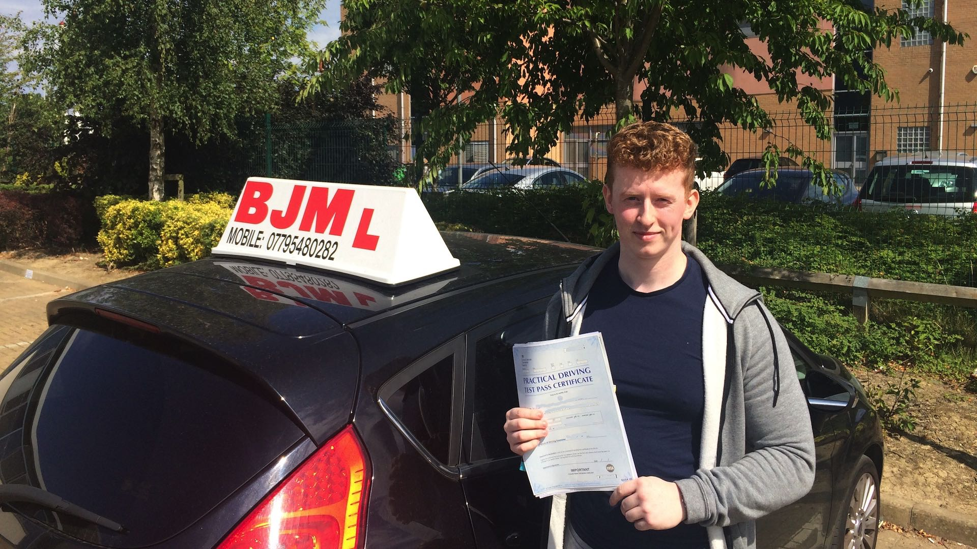 driving, Congratulations Alex, BJM School of Motoring, BJM School of Motoring