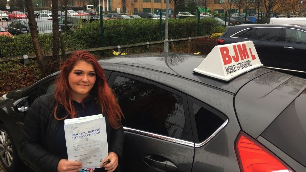 Congratulations Demi School of Motoring Drivings Lessons Bradford Test Pass Call: 07795480282 1st 4 lessons £79