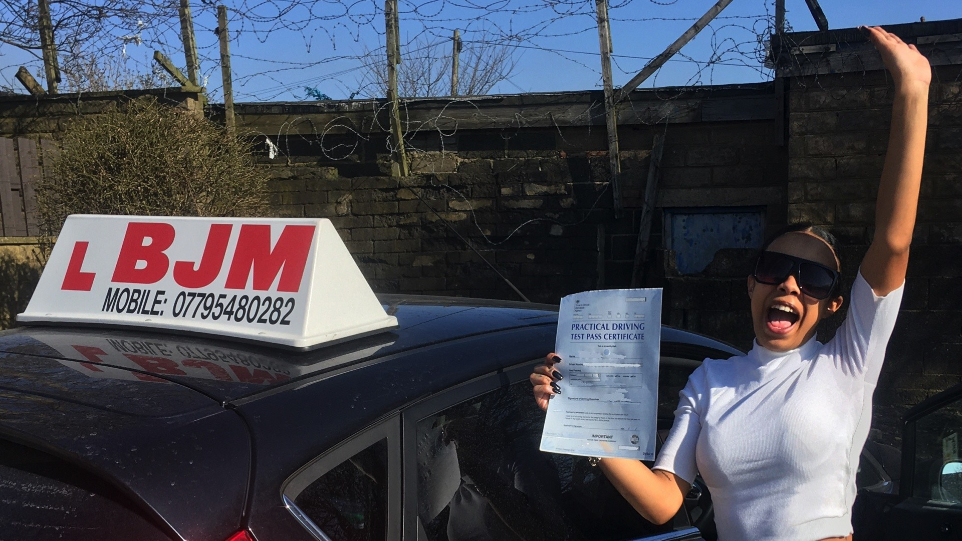 Congratulations Kiki, Congratulations Kiki, BJM School of Motoring