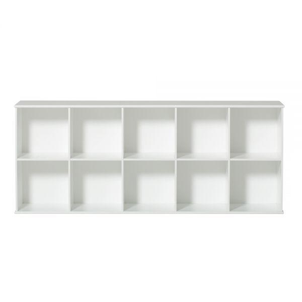 etagere horizontale 5x2 wood