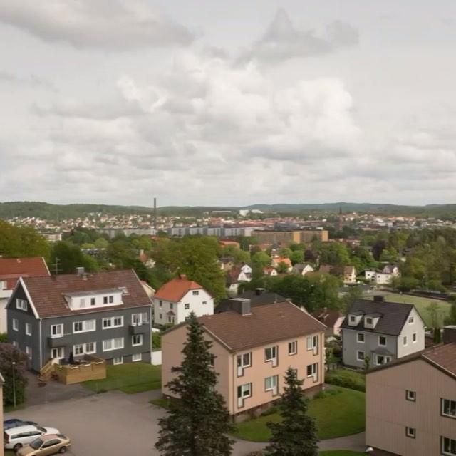 Time lapse över Borås från Byttorp. #timelapse