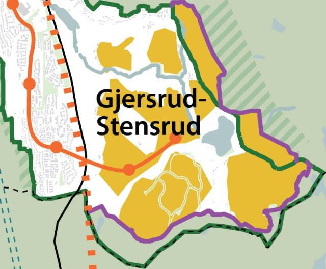 Arealbruksstrategi mot 2050 Forslag til kommuneplan for Oslo (Illustrasjon: Plan- og bygningsetaten)