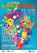 Bjørndal sommerfestival 2014 (illustrasjon: Bjørndal frivilligsentral/Laine Gundersen)