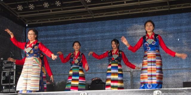 Tibetansk-dans