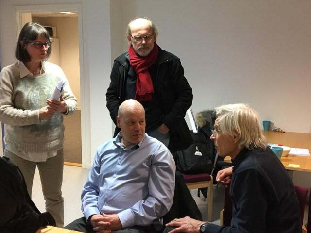 Bilde Bjørndøler på møtet