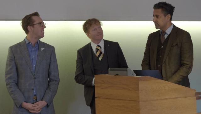 Arrangører av seminar på Stortinget 26.10.2017