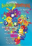Plakat for Bjørndal sommerfestival 2019