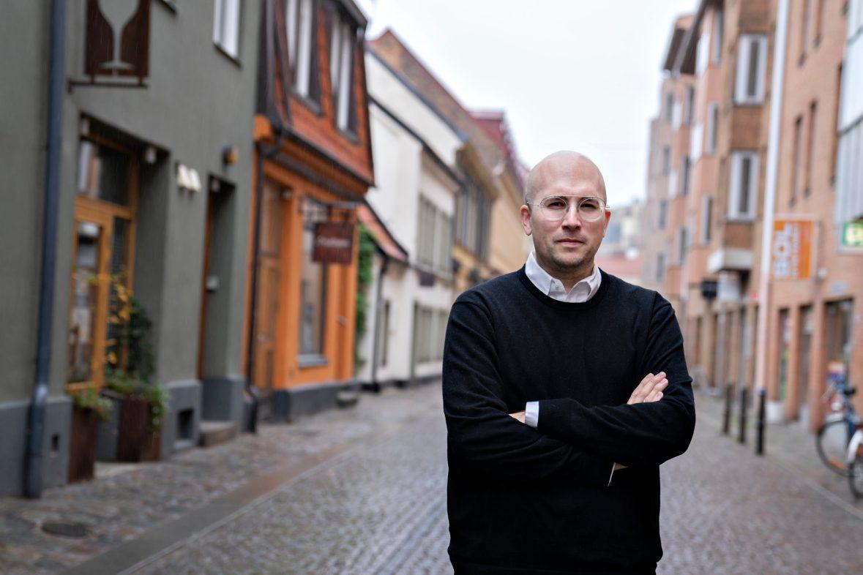 Björn Jeffery. Photo: Lars Dareberg