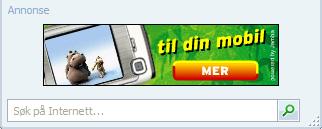 MSN-reklame med lyd