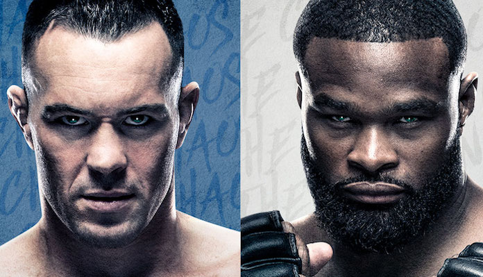 Colby Covington, Tyron Woodley, UFC on ESPN+ 36 Odds