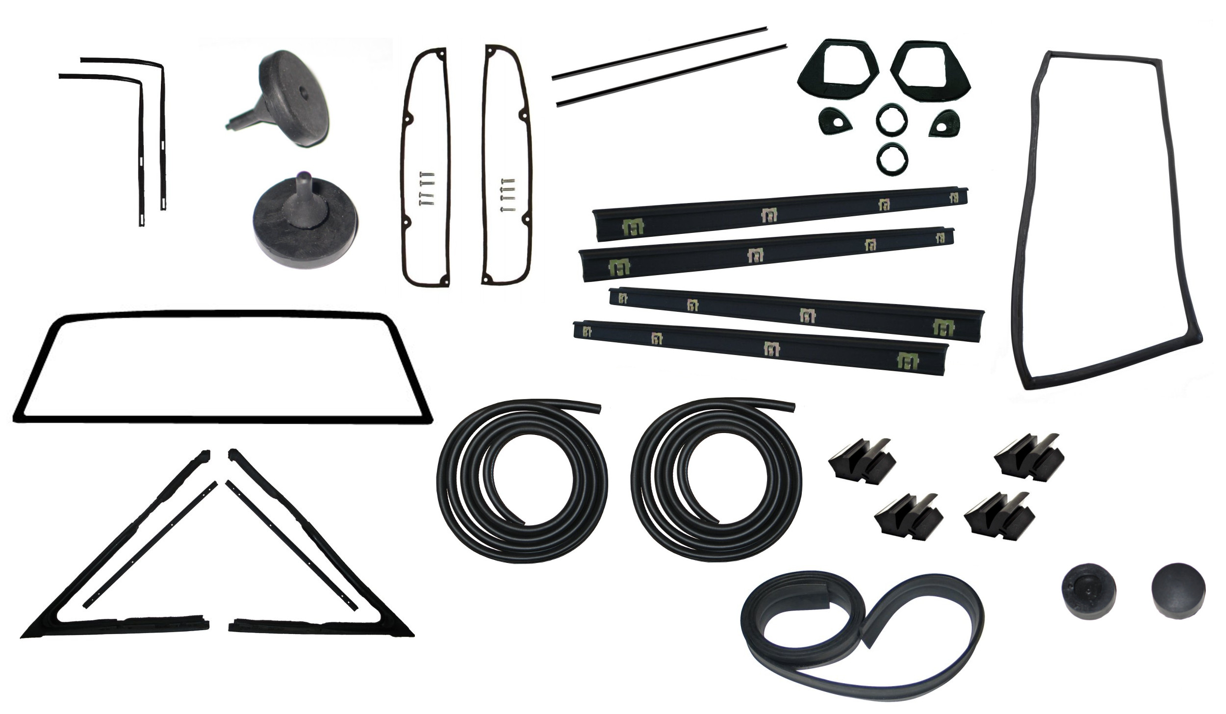 Weatherstrip Kit For Pickup Trucks