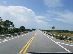 driving to kayak location