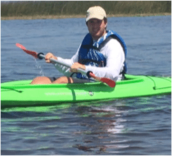 Dylan chapman florida kayaking bioluminescence guide bk adventure