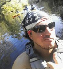 Marks Williams Jr biking guide and kayaking guide bioluminescence florida