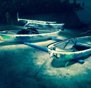 Night Kayaking Clear Kayaks