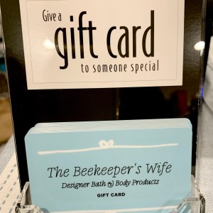 The Beekeeper's Wife Gift Cards