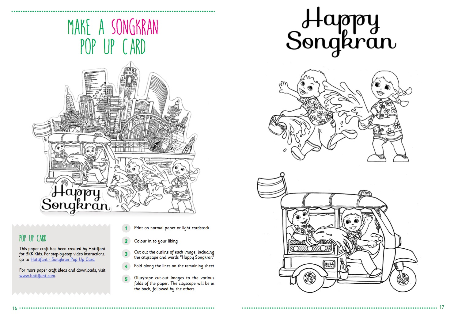 Free Download Songkran Activity Booklet