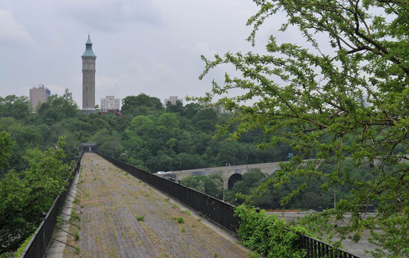 The High Bridge in present day. Photo: nycgovparks.org
