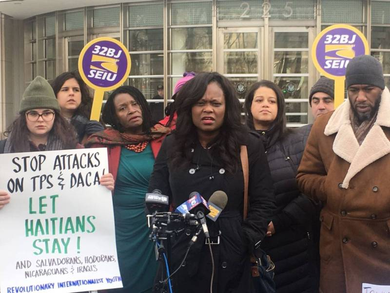The lawsuit, filed by a group of Brooklyn Haitian residents, alleges that the TPS termination is racist and in violation of U.S. laws.